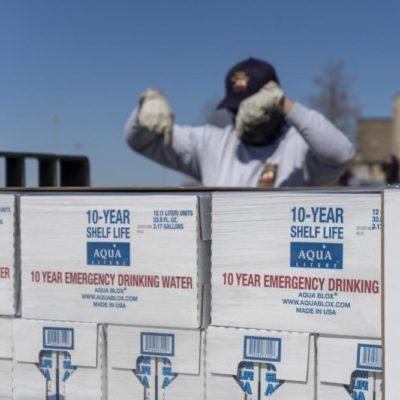 Emergency Drinking Water Distribution Completed in Texas
