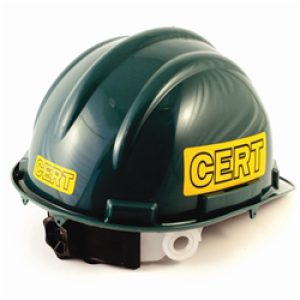 Deluxe CERT Hard Hat 4 Point Suspension