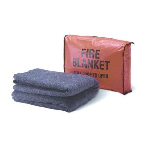 Fire Blanket with Fire Blanket Cover