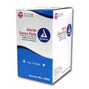 "2""x 2"" Sterile Gauze Pad"