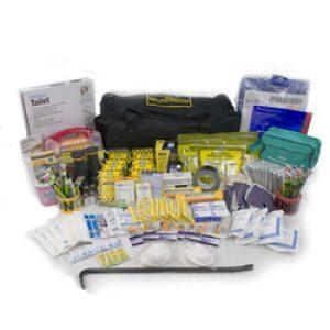 10 Person Deluxe Office Emergency Kit on Wheels