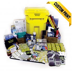 20 Person Deluxe Office Emergency Kit on Wheels
