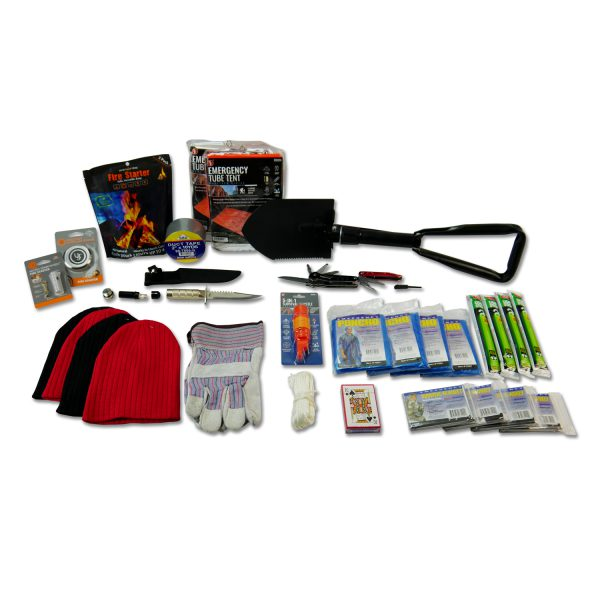 4 Person Elite Emergency Kit (3 Day Backpack)