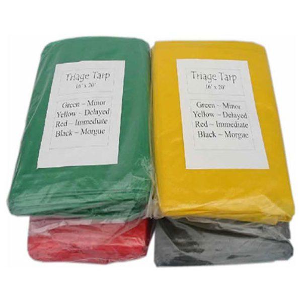Triage Tarps Set of 4 16×20