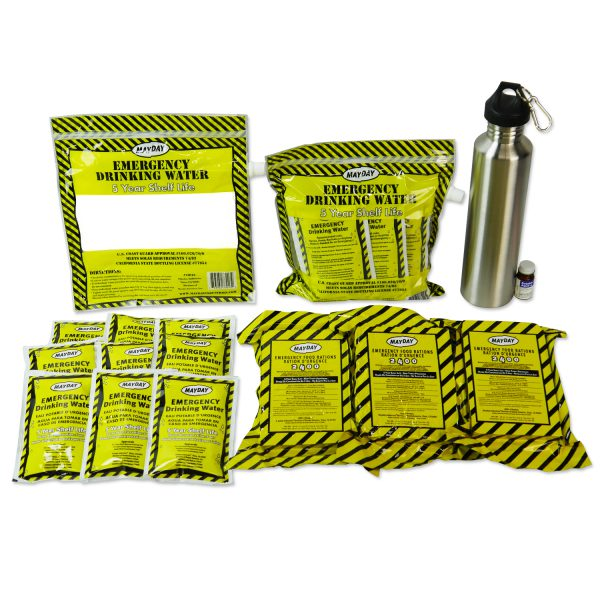2 Person Elite Emergency Kit (3 Day Backpack)