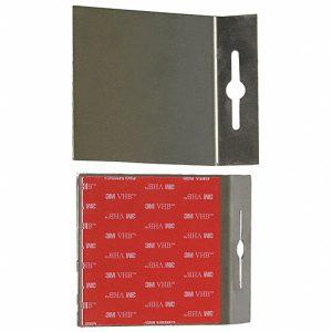 4×4 Stainless Stell Adhesive Plate