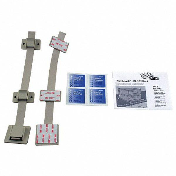 HPLC 2-Stack Fastener,Gray
