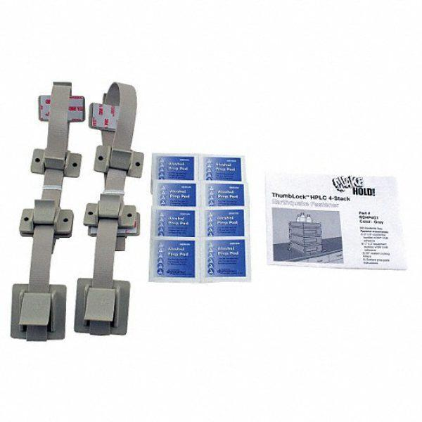 HPLC 4-Stack Fastener,Gray