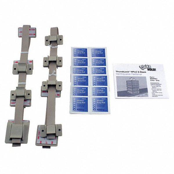 HPLC 6-Stack Fastener Kit,Gray