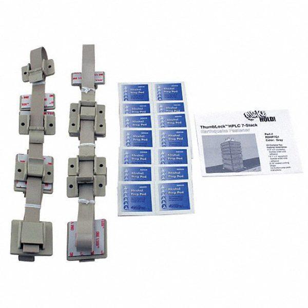 HPLC 7-Stack Fastener,Gray