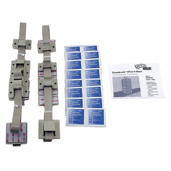 HPLC 8-Stack Fastener,Gray