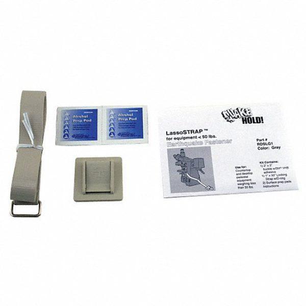 Lasso Strap Fastener-50 lbs,Gray