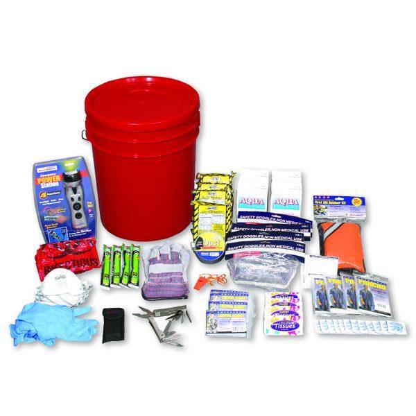 4-Person Deluxe Emergency Bucket Kit