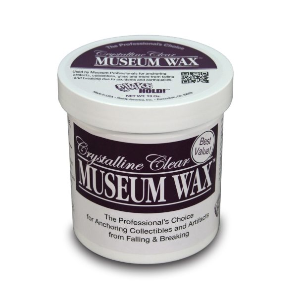 Crystalline Clear Museum Wax 13oz