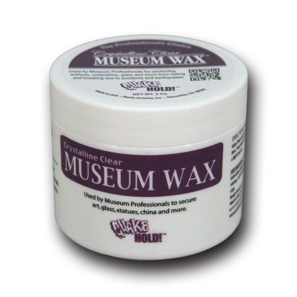 Crystalline Clear Museum Wax 2oz