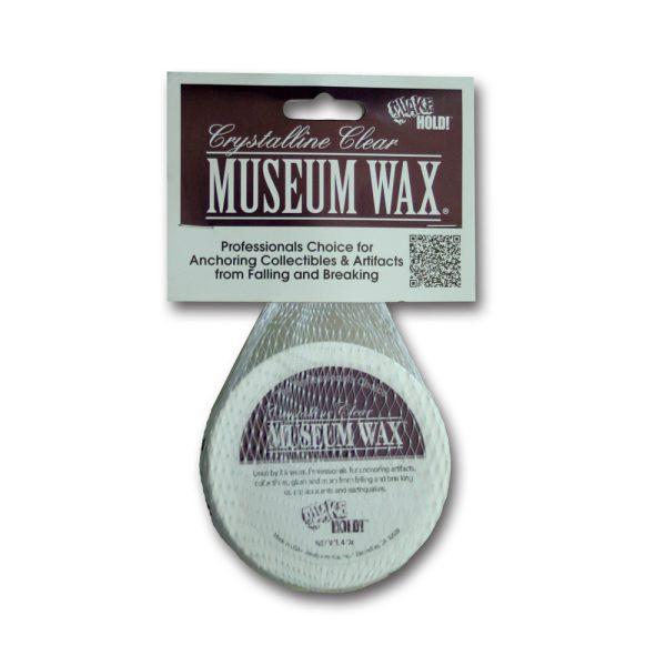 Crystalline Clear Museum Wax 4oz