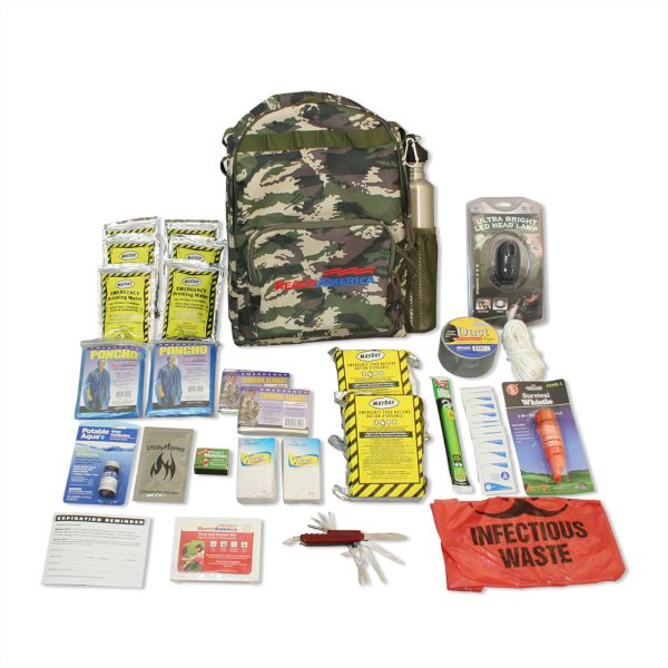2-Person Outdoor Survival Kit