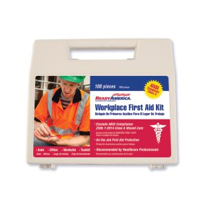 Workplace First Aid Kit, 100 piece
