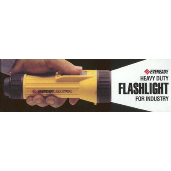Eveready Heavy Duty Industrial Flashlight