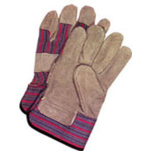 Leather Palmed Work Gloves