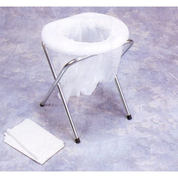 Portable Folding Toilet w/ disposal bags