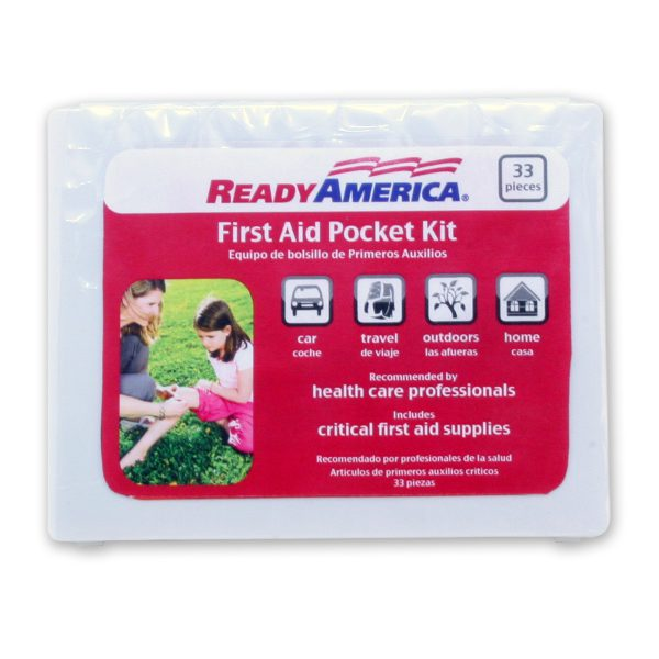First Aid Kit, 33 piece